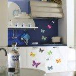 Preciosas pegatinas de mariposas