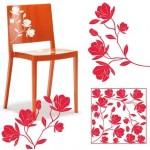 Vinilo Decorativo Rosas