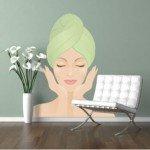 Un vinilo decorativo ideal para un salón de belleza