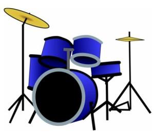Vinilo decorativo bateria musical vinilos decorativos for Vinilos decorativos instrumentos musicales