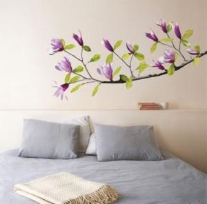 Vinilo decorativo magnolia vinilos decorativos Plantillas decorativas ikea