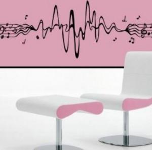 Vinilo decorativo musical vinilos decorativos for Vinilos decorativos sobre musica