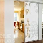 Vinilo Decorativo ideal para puertas de cristal