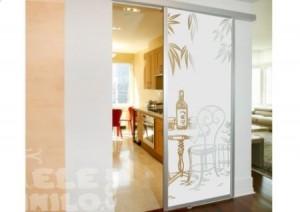Vinilo decorativo puertas de cristal vinilos decorativos - Cristales decorativos para puertas de interior ...
