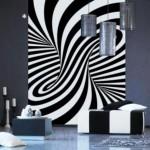 Vinilo Decorativo Ilusion Optica