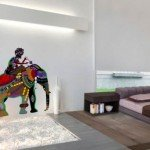 Elefante lleno de colores para decorar la pared