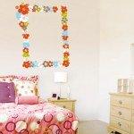Un bonito marco floreado para tu dormitorio