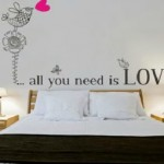 Vinilo dormitorios 2 vinilos decorativos for Vinilos habitacion matrimonio