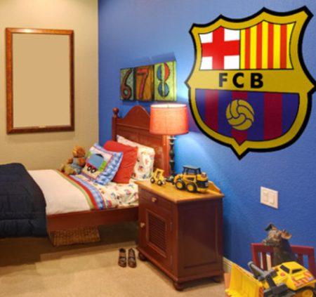 Vinilo decorativo barcelona futbol club vinilos decorativos for Vinilos pared barcelona