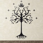 Vinilo arbol de Gondor