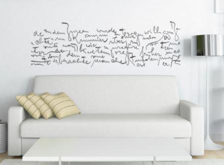 Vinilo decorativo texto la metamorfosis de kafka vinilos for Vinilos decorativos interiores