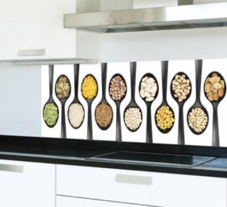 Vinilo decorativo fotomural para la cocina vinilos for Fotomurales para cocinas