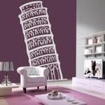 Vinilo Torre de Pisa