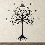 El árbol de Gondor con toda la imaginación de Tolkien en tu pared