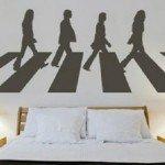 Vinilo Decorativo simbólico sobre Los Beatles