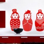 Las mamushkas, figuras decorativas símbolicas de la maternidad