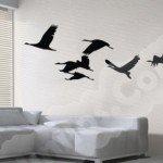 Aves en vuelo, símbolo de libertad