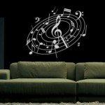 Remolino musical, un acertado diseño para la sala