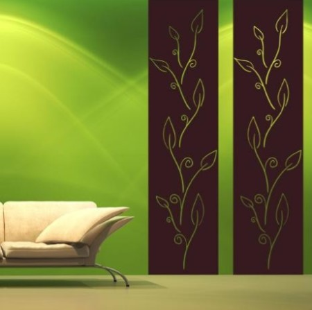 Vinilo decorativo cenefa vertical vinilos decorativos - Cenefas de vinilo para banos ...