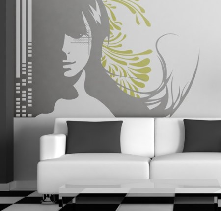 Vinilo decorativo convallis vinilos decorativos - Decoracion vinilos salon ...