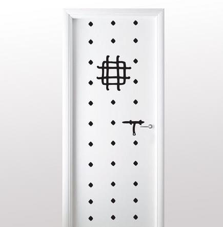 Vinilo decorativo puerta de fortaleza vinilos decorativos - Vinilo para puerta ...