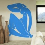 Desnudo azul; una obra de Matisse en un vinilo decorativo inigualable