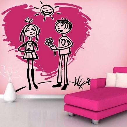 Vinilo decorativo amor adolescente vinilos decorativos for Vinilo para habitacion de nena