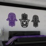 Manos tribales para decorar la sala