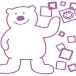 Un simpático oso para decorar la habitación del niño