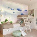Hermoso vinilo decorativo para el dormitorio de tu hijo