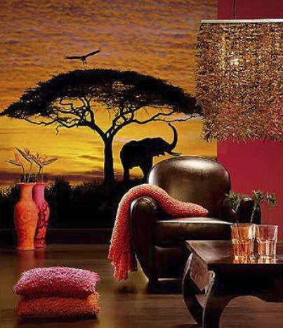 Vinilo decorativo sabana africana el corte ingles - Paredes pintadas originales ...