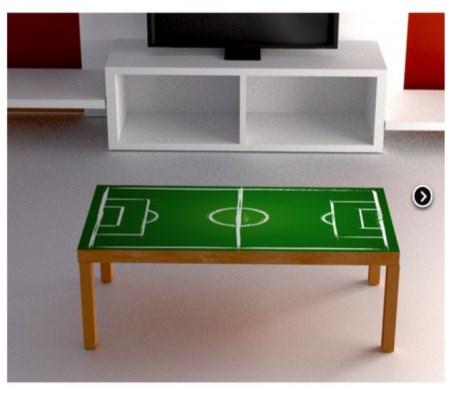 Vinilo decorativo mesa de futbol vinilos decorativos - Vinilos para mesas ...
