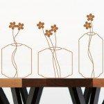 Flores minimalistas para ambientes amplios