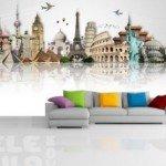 Decora con los mejores monumentos del mundo tus paredes