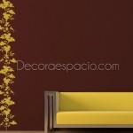 Un vinilo decorativo vertical y muy selvático