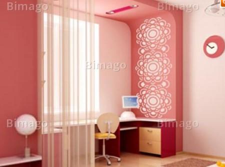 Vinilo decorativo cenefa ornamental vinilos decorativos - Cenefas para espejos ...