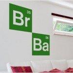 También puedes decorar con el vinilo de Breaking Bad