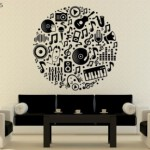 Vinilo Decorativo Musical