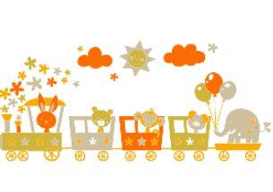 vinilo-decorativo-tren-para-ninos