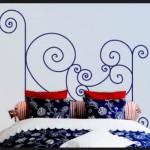 Vinilo Decorativo Forja Cabecero de cama
