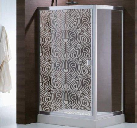 Casas cocinas mueble vinilo decorativo para bano for Banos decorativos