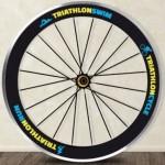 Vinilo Decorativo rueda triatlon