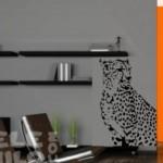 Decora con un imponente leopardo