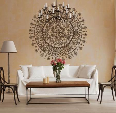vinilo decorativo mandala hindu vinilos decorativos