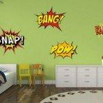 Decora a puro comic tu dormitorio
