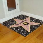 Vinilo Decorativo estrella de hollywood