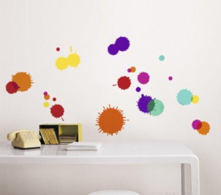Vinilo decorativo manchas de color vinilos decorativos - Vinilos de color ...