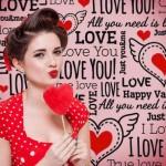 Vinilo Decorativo Amor San Valentin