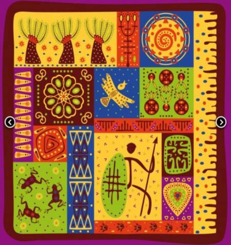 Vinilo Decorativo Tribal