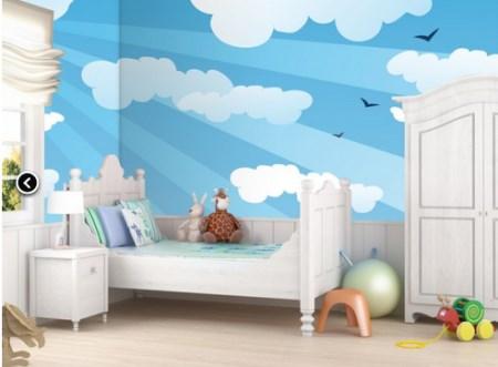 Vinilo decorativo fotomural para ni os vinilos decorativos for Vinilo techo habitacion